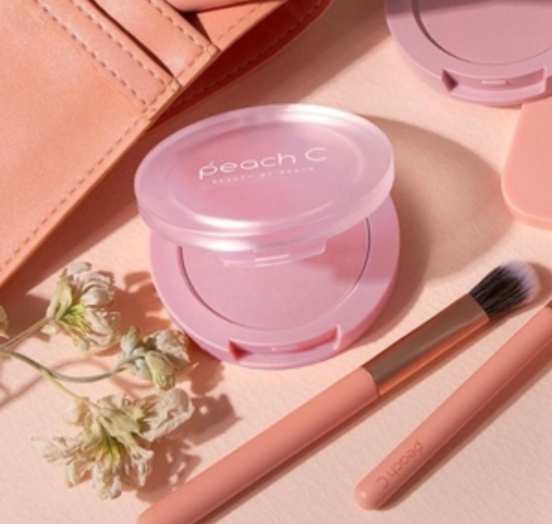韓國 Peach C~軟綿腮紅(5g) 新色薰衣草紫/杏橘色