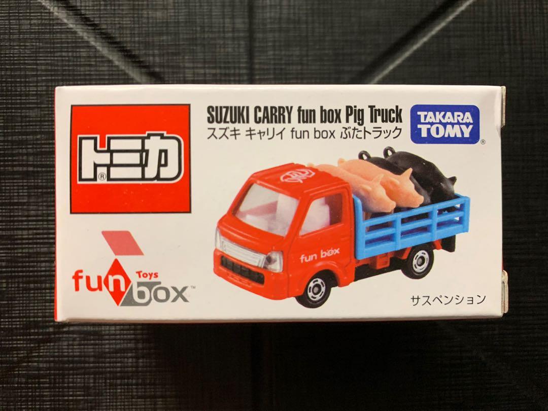 全新購自🇹🇼✈️ Suzuki Carry Fun box Pig Truck 台灣限定