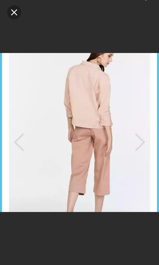 ❤ TCL Clara Oversize Denim Jacket