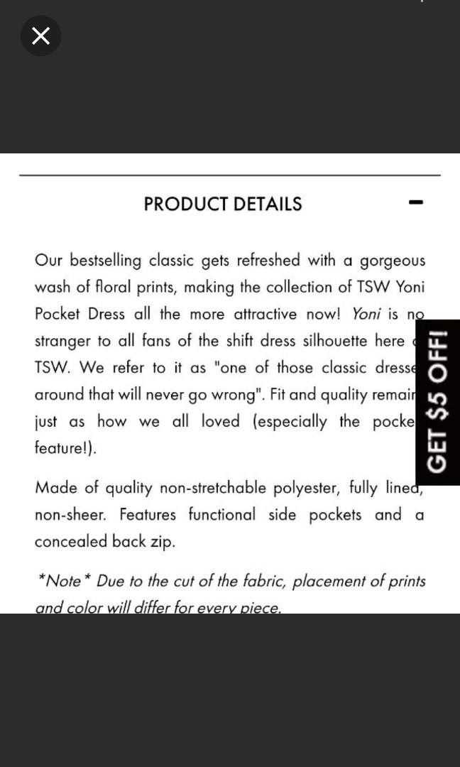 ❤ TSW Yoni Pocket Dress In Foliage