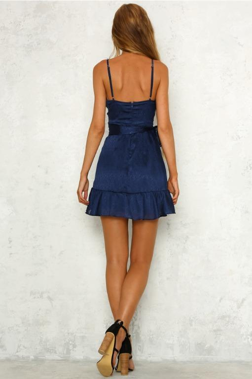 Angels Calling Us Dress in Navy by Hello Molly Size 10