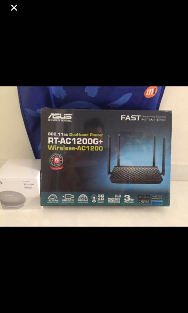 Asus Ac1200g+ dual band router