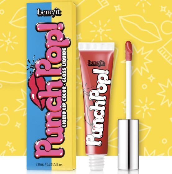 Benefit Punch Pop! Lip Color
