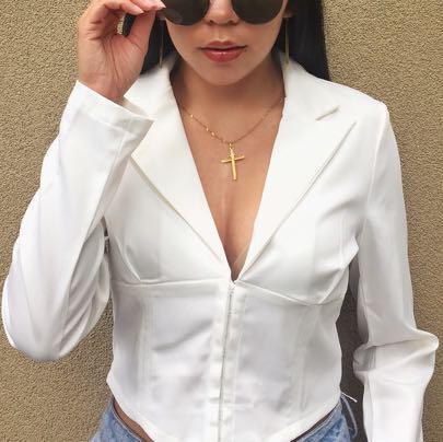 Blazer style top