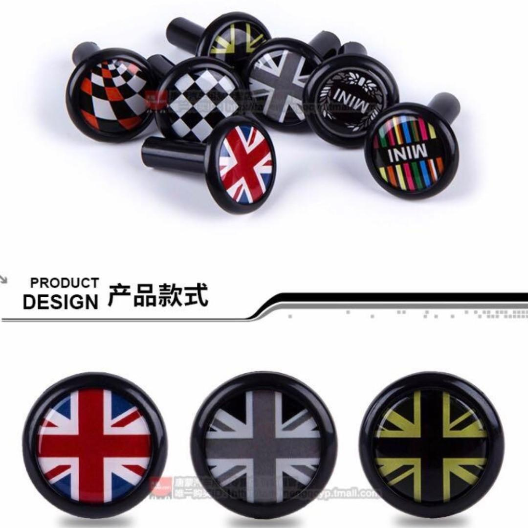 BMW Mini Cooper door adornments set of 2 Merc Audi Mazda Xbox PS4 Star Wars pokemon LEGO mirror sideshow Statue