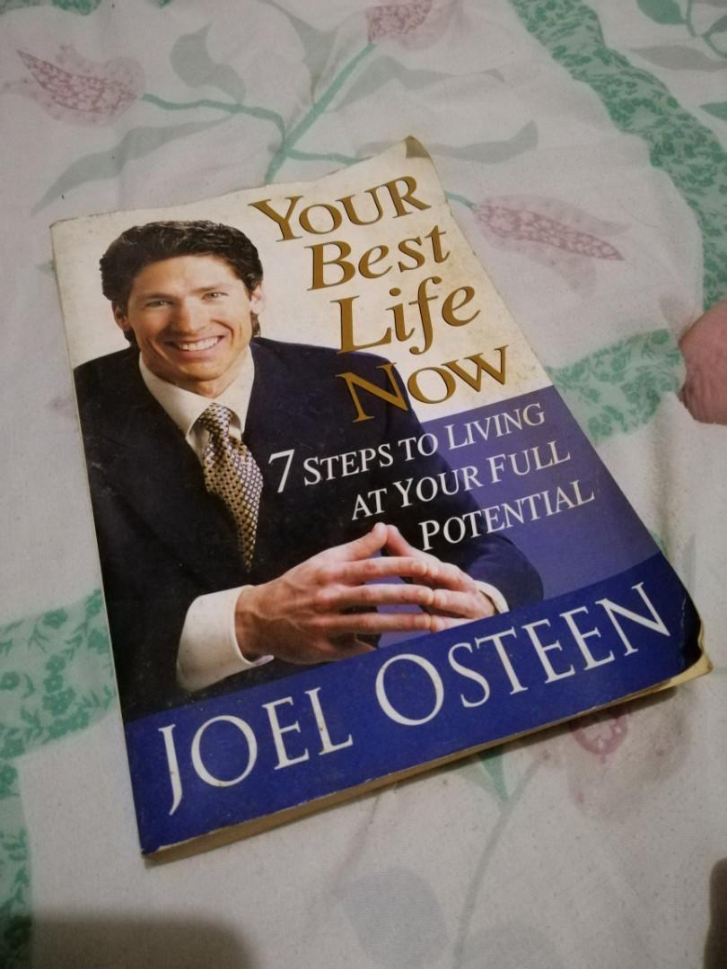 "Books: ""Your Best Life Now"" by Joel Osteen & One Month To Live by Kerry & Chris Shook"