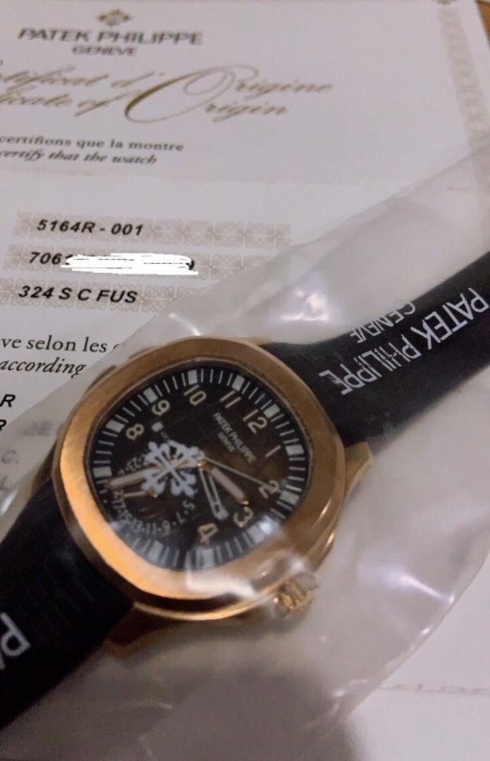 Brand New Patek Philippe Aquanaut Traveltime 5164R 5164