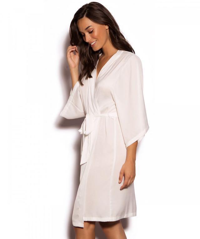 BRAND NEW RRP $59.95 Bras N Things Bridal Bride Robe