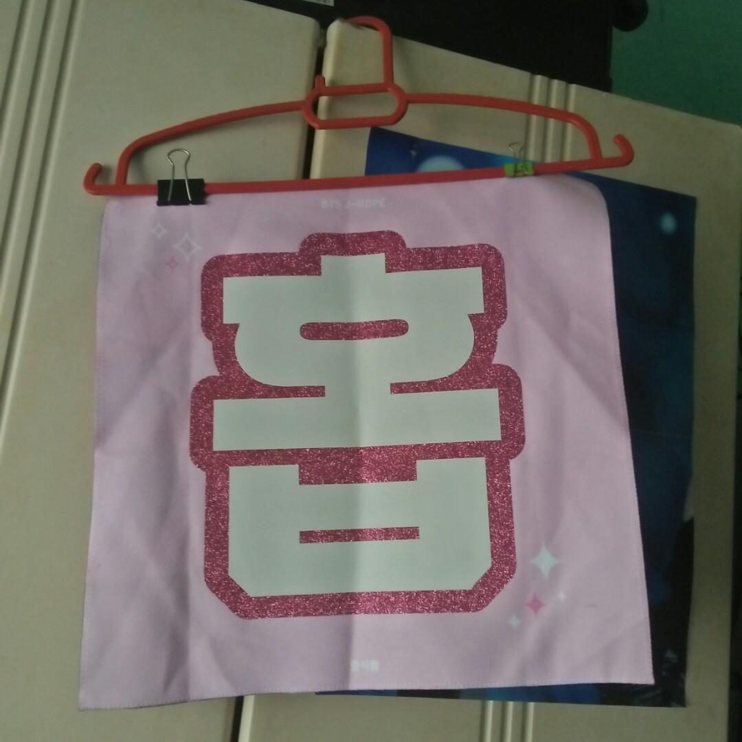 BTS j-hope fansite slogan
