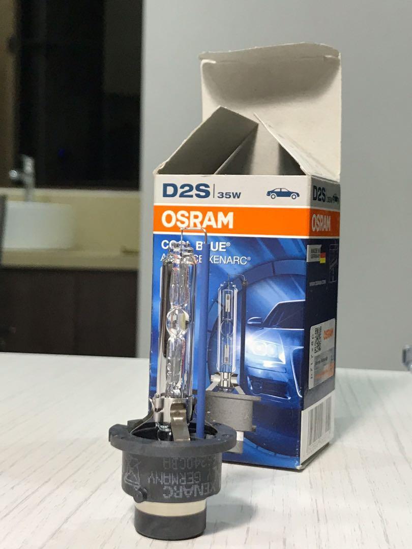 Bundle OSRAM D2S, 6000k Cool Blue Advanced Xenarc, 35W