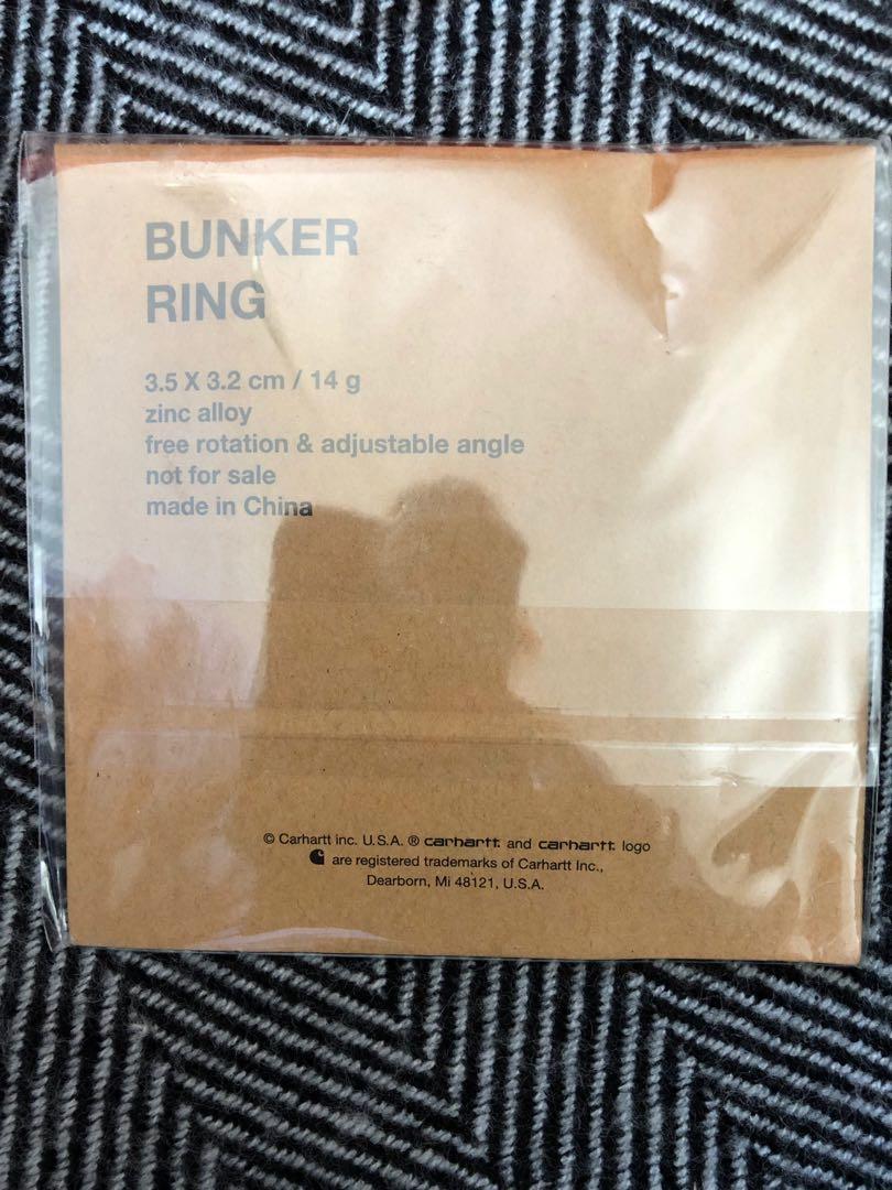 Carhartt  bunker ring 電話環