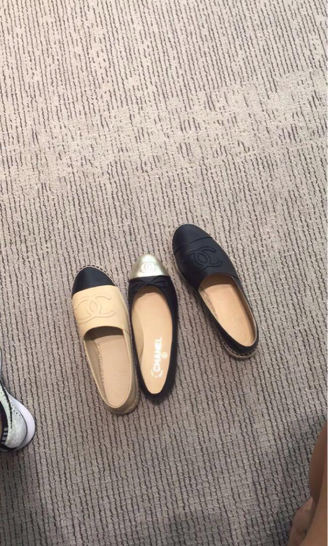 Chanel 漁夫鞋 草鞋
