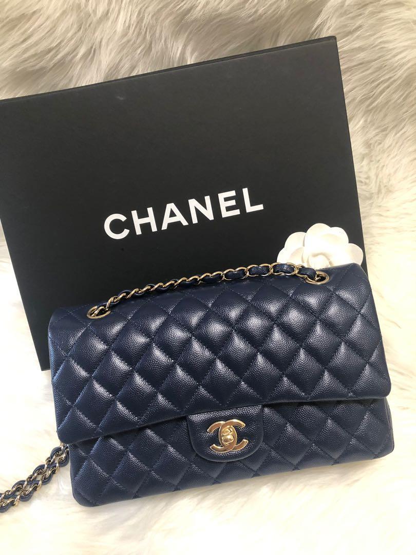 Chanel coco 25 荔枝皮 金扣
