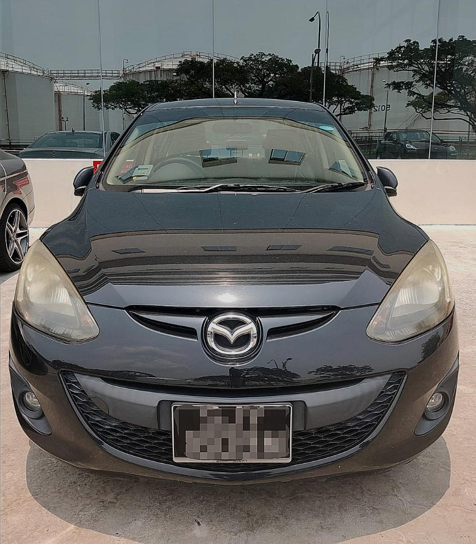 Cheap Mazda 2 sedan for Rent (Weekdays)