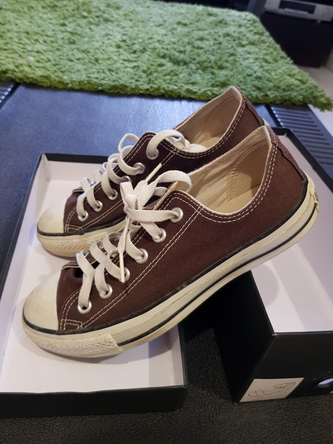 Converse Chuck Taylor Low Top Barkroot Brown