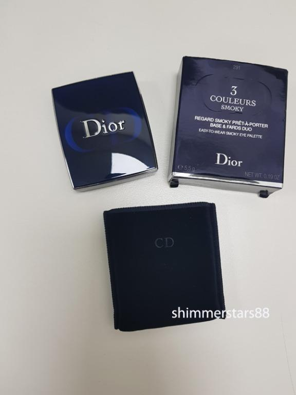 Dior 3 Couleurs Smoky Eyeshadow Palette in Smokey Navy