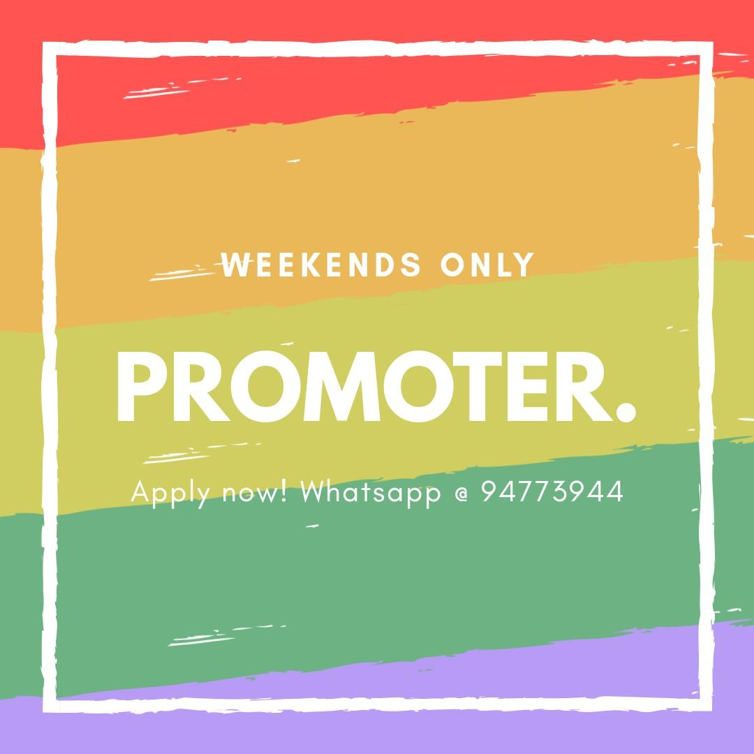 Events Job - Promoter [Weekends Only!]