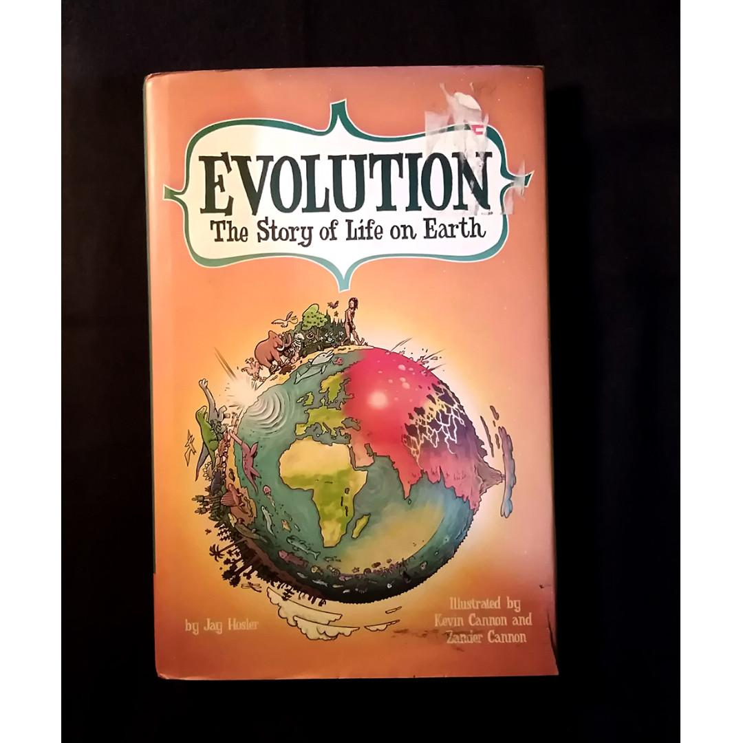 Evolution: The Story of Life On Earth Graphic Novel. Willing to trade for something else. Message your offers.