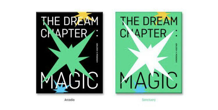 [GO] TXT THE DREAM CHAPTER MAGIC OFFICIAL ALBUM WITH POSTER FULL SET PREORDER