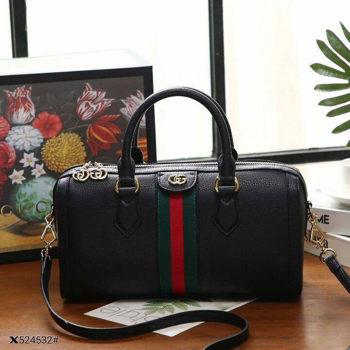 Gucci Ophidia Medium Top Handle Bag👜,kirim dari Batam,Nettprice