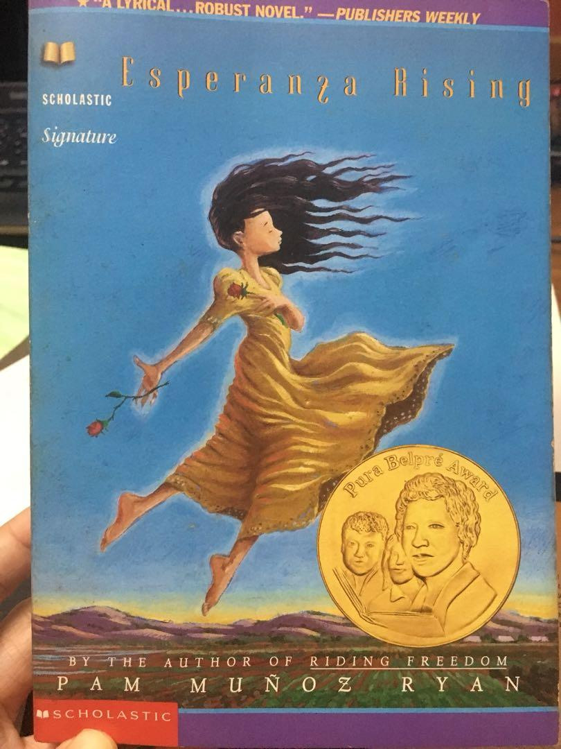 Harry Potter (book 1&2), Angels and Demons, Drop Dead Beautiful, A separate peace, Esperanza Rising,Devoted(dog tales), The Right Address, Tales oF Buddha