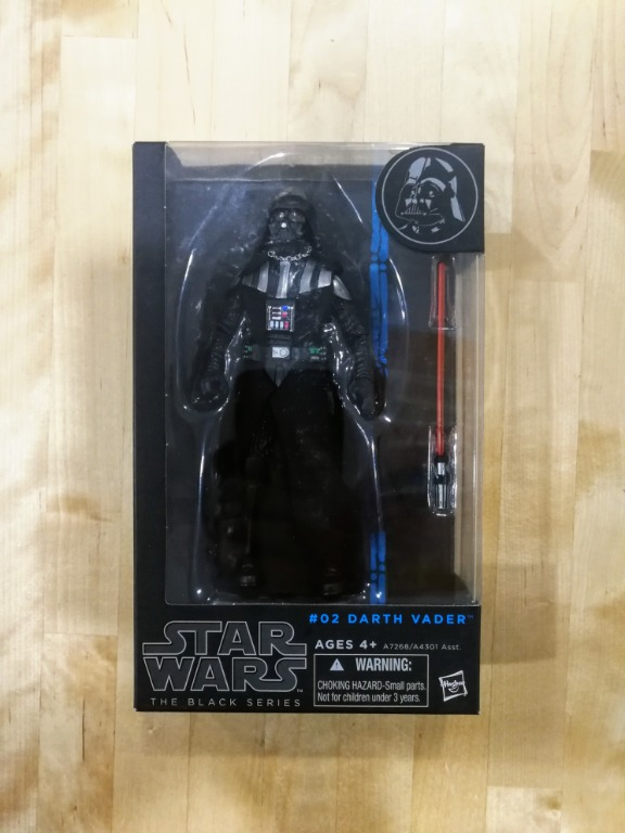 "Hasbro Black Series #02 6"" Darth Vader"