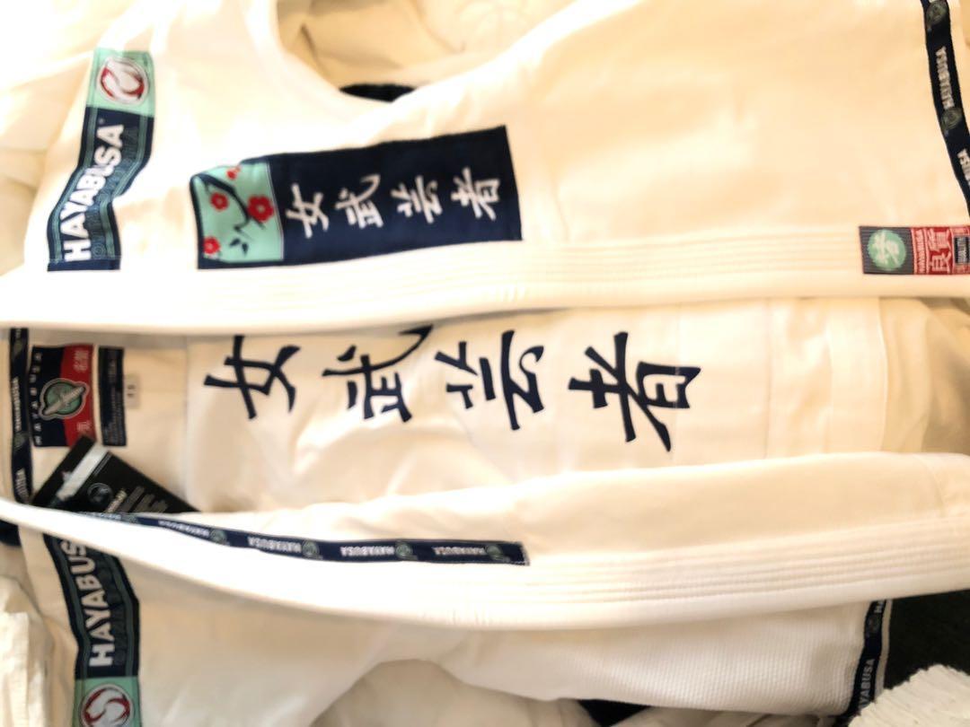 Hayabusa womens Jiujitsu Gi RRP $250