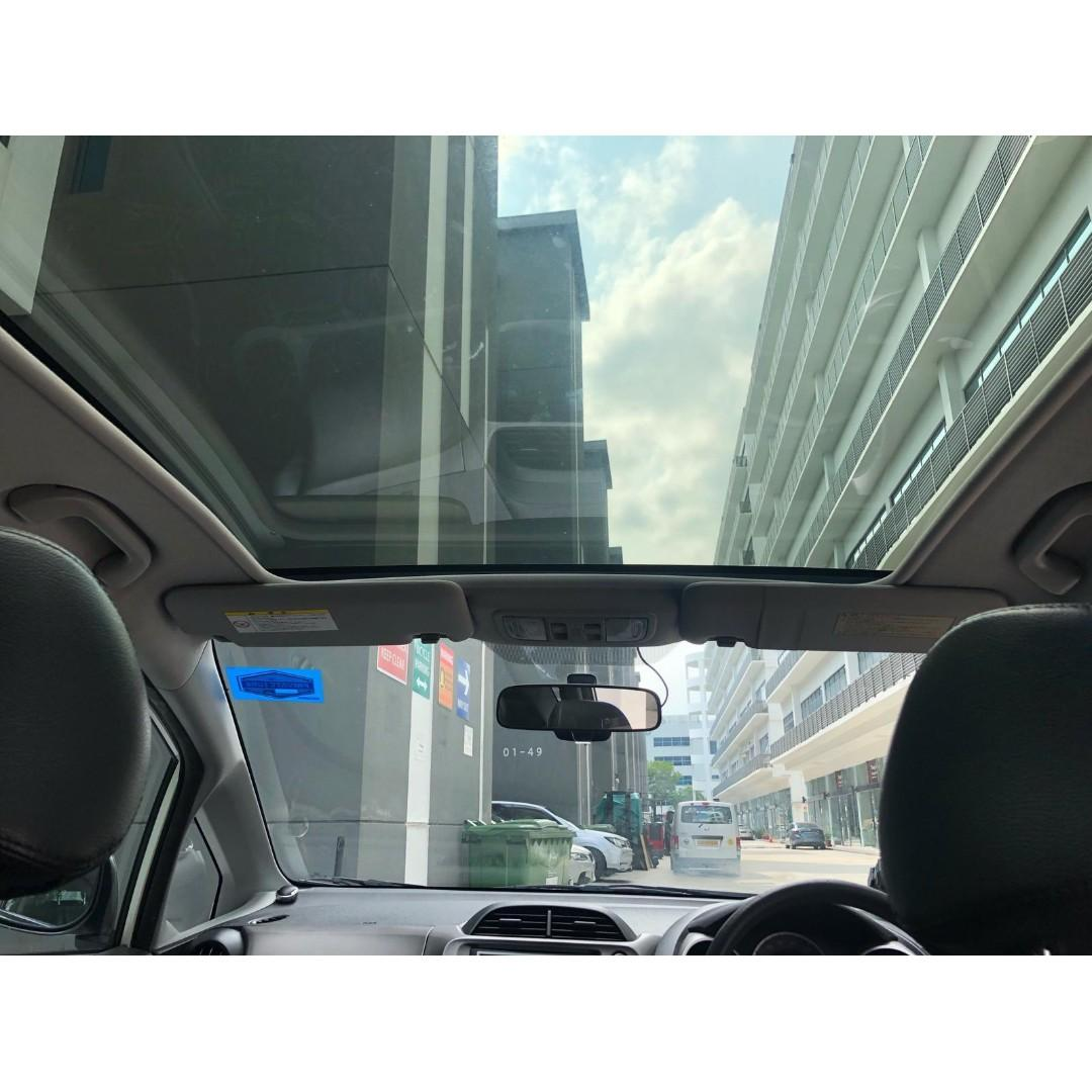 Honda Fit Sunroof Available For Rent ! PHV/Personal usage are welcome!