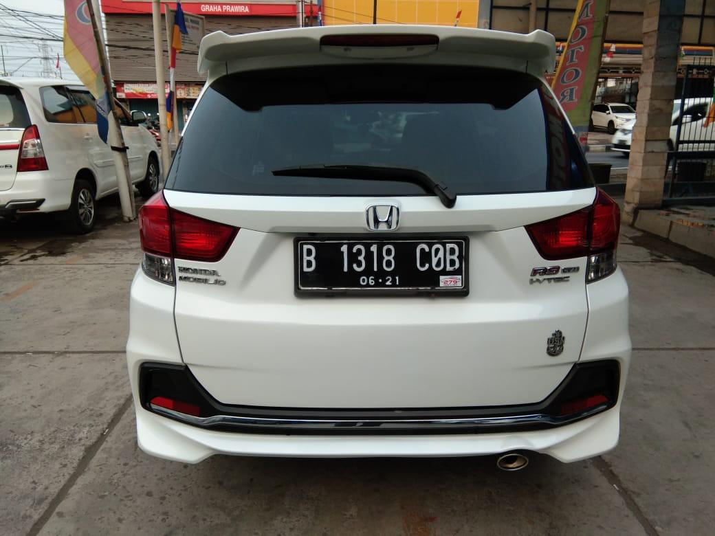 Honda Mobilio RS CVT 1.5 AT 2016 Putih Orchid Metalil