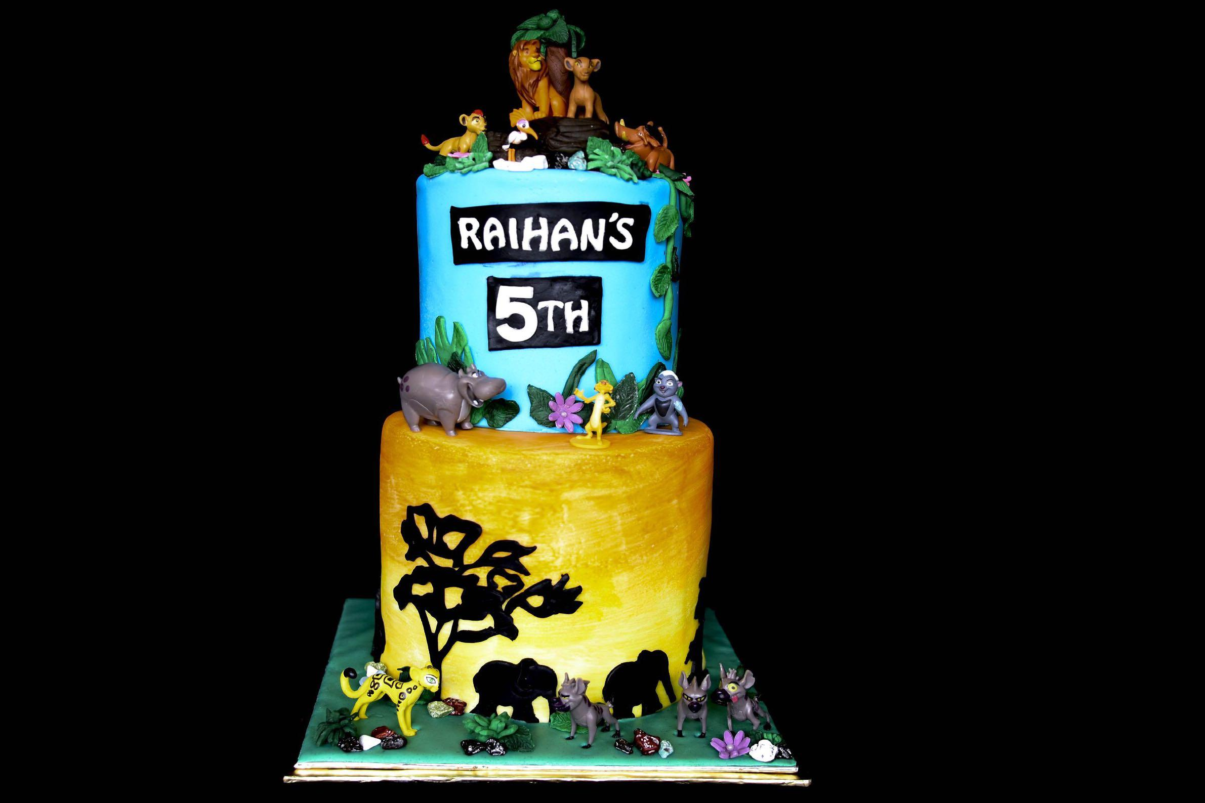Wondrous Lion King Birthday Cake Food Drinks Baked Goods On Carousell Funny Birthday Cards Online Fluifree Goldxyz