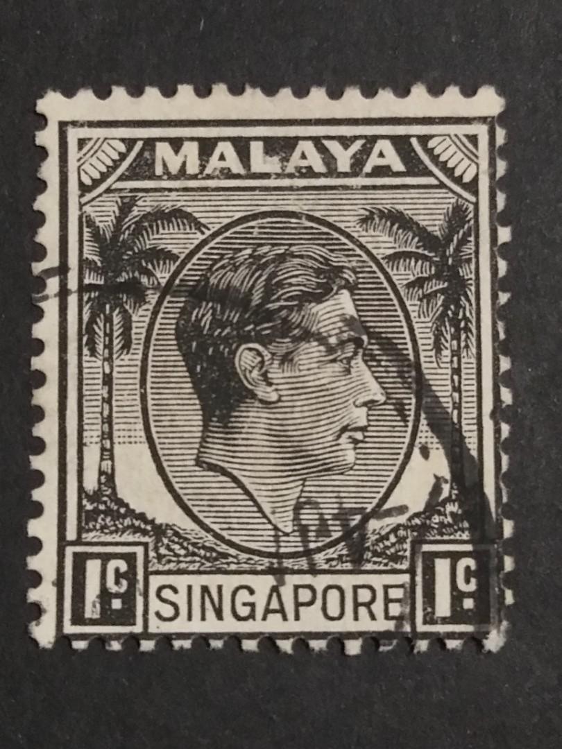 MALAYA/Singapore/one cent