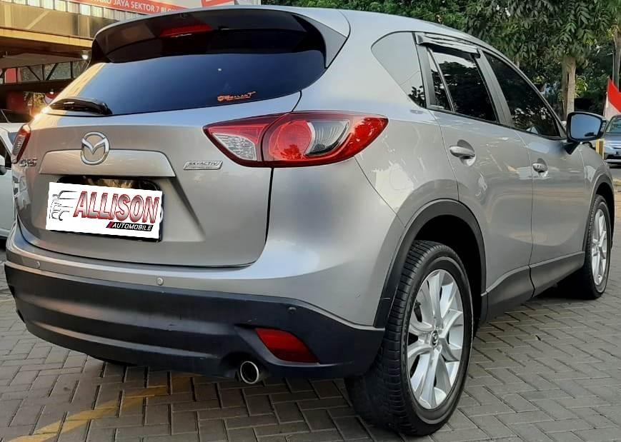Mazda CX-5 GT 2.5 AT 2014 Silver SunRoof Dp 38,9 Jt