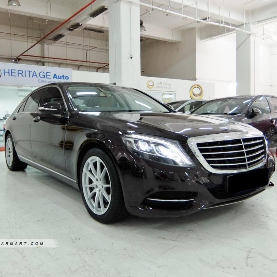 $1,000 Weekly /Mercedes-Benz S-Class S400L Hybrid Long Term Rental Only