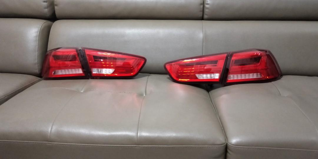 MITSUBISHI LANCER GT / EVO X10 / PROTON INSPIRA 2007-2016 EAGLE EYES Merah Asap A-Concept LED Light Bar Tail Lamp [TL-169-21]