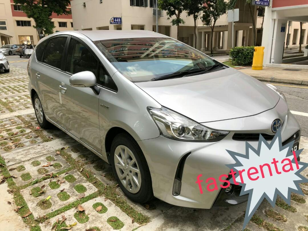 New Toyota Prius Alpha 1.8X- Collect IMMEDIATELY