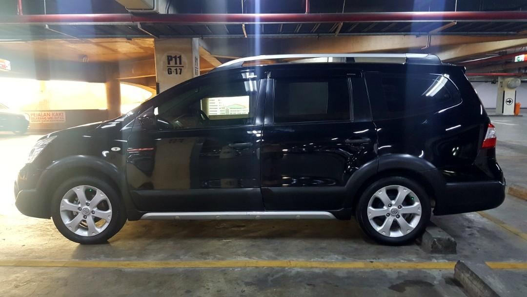 Nissan Grand Livina XGEAR 7 seater 1.5 AT 2015 MPV angs 1.5 jt