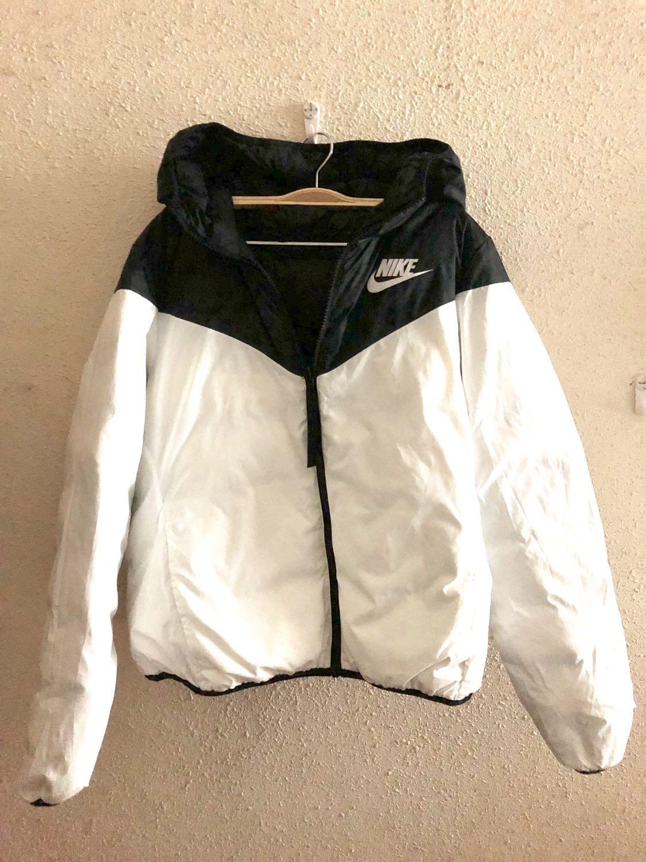 Original Nike down fill hoodie jacket