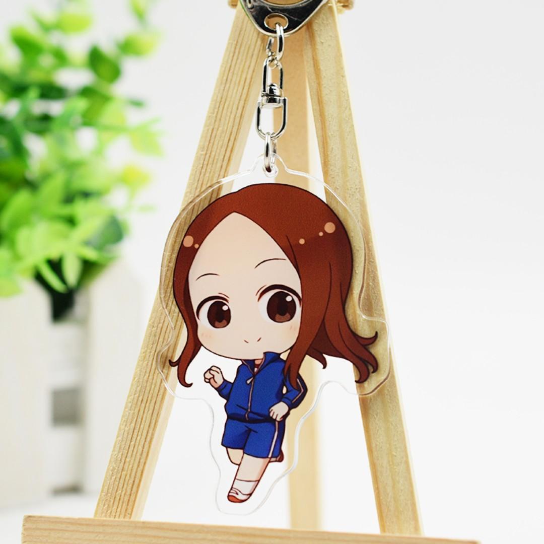[po] karakai jouzu no takagi-san Acrylic keychains