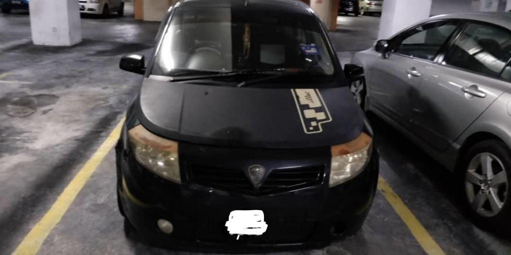 Proton Savvy 2005 model sale for RM 5000 with good condition, just buy and drive