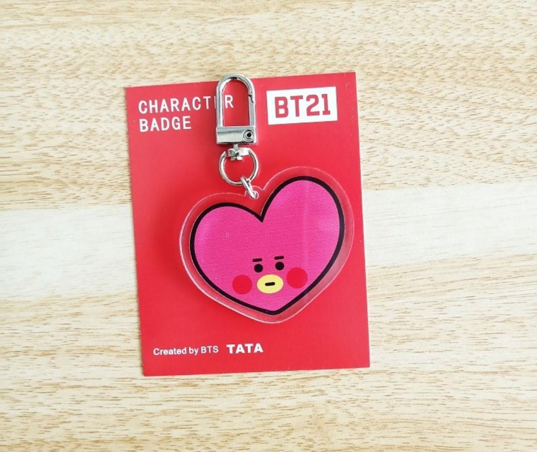 READY STOCK! [Unofficial] BT21 Cartoon Baby Pendant
