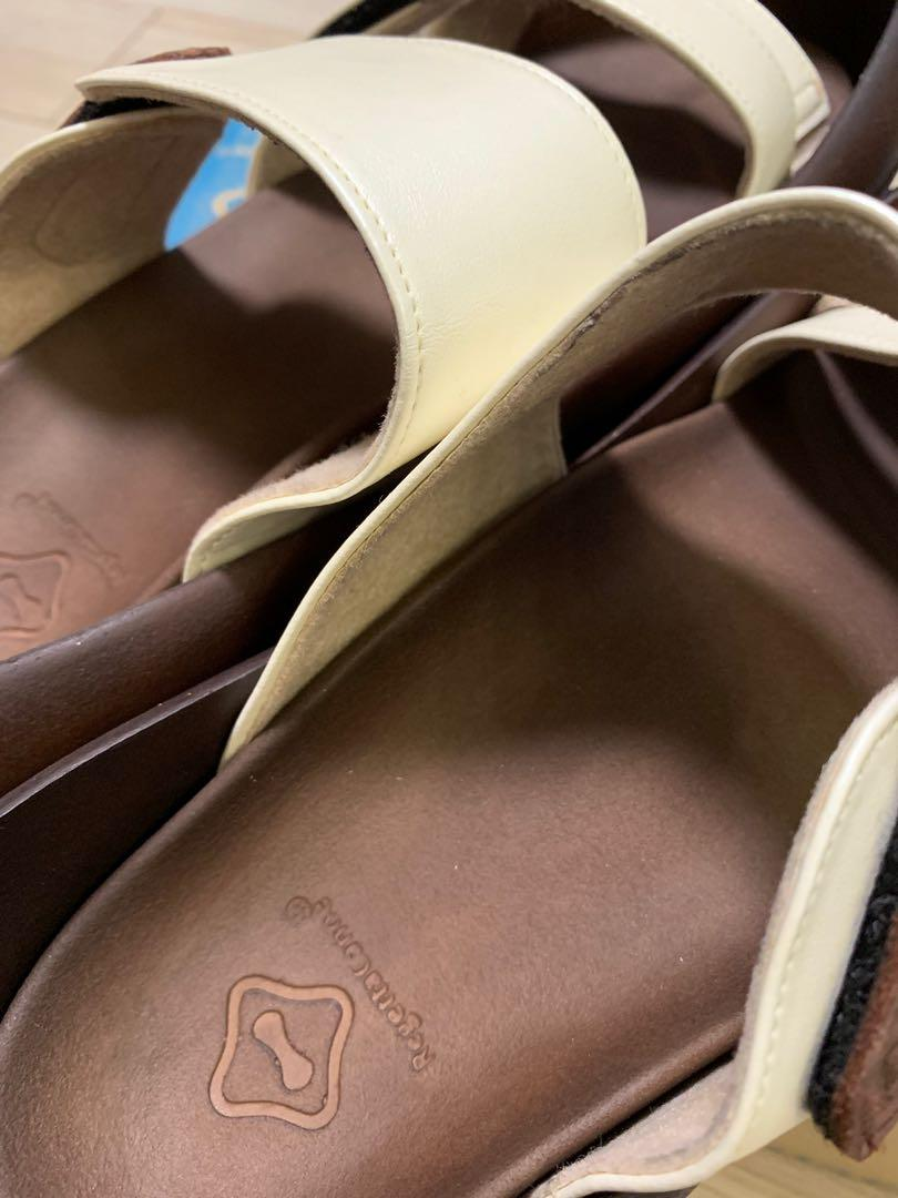 Regetta Canoe M size 日本製造 Made in Japan 白色 船底 安全鞋 涼鞋