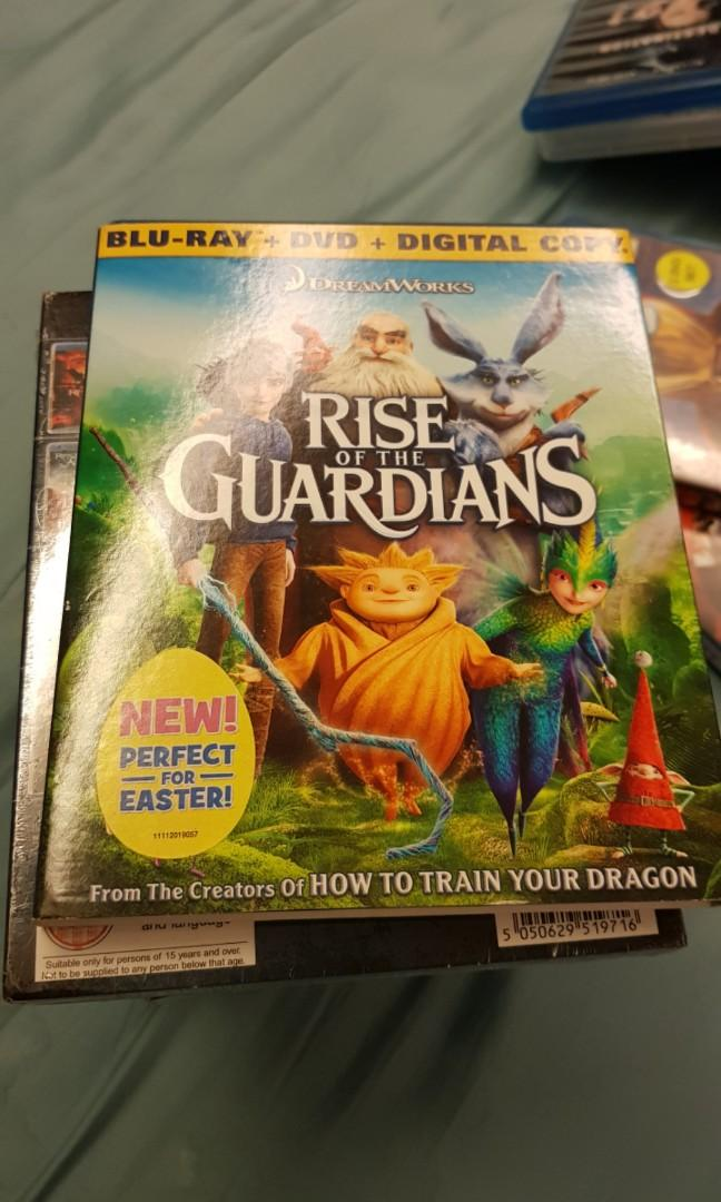 Rise of The Guardians Blu Ray