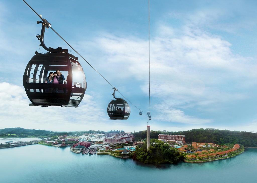 Singapore Cable Car Skypass 2 way yewlisg cable car