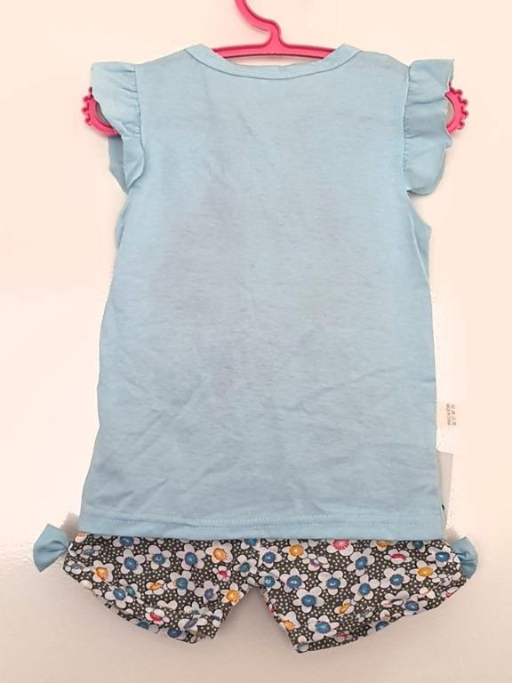 Size 3 summer outfit Brand new with tags Slim fit elastic waist shorts