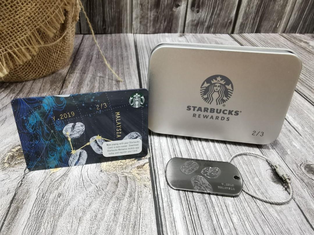Starbucks Second Version Constellation Card & Tag