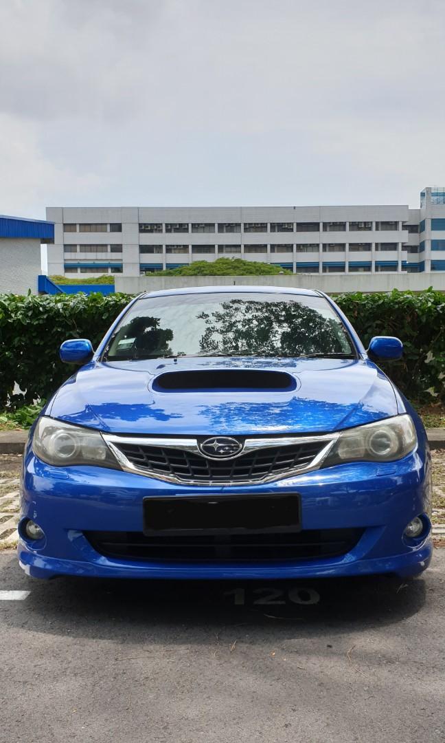 Subaru WRX 2.5L Hatchback 5 Speed Manual