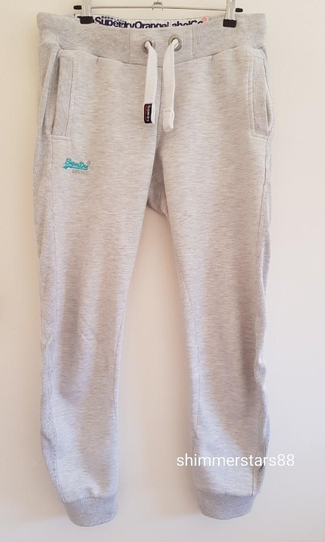 Superdry Orange Label Slim Fit Trackie Tracksuit joggers Pants, RRP$99.95