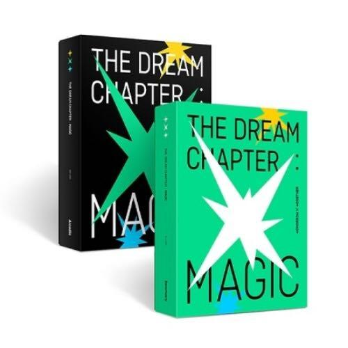 TOMORROW X TOGETHER - THE DREAM CHAPTER : MAGIC ★COVER RANDOM★