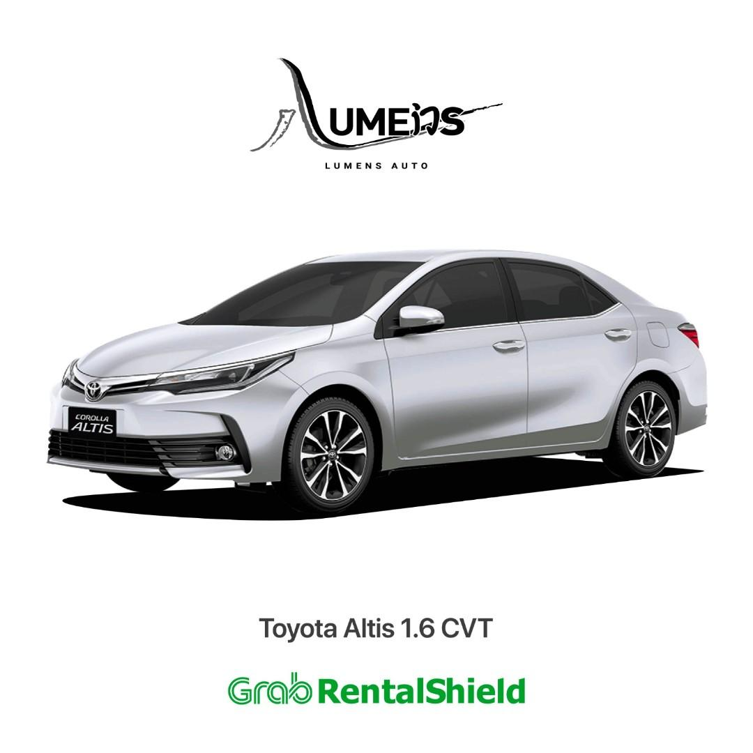 Toyota Altis First Choice for PHV Grab Use