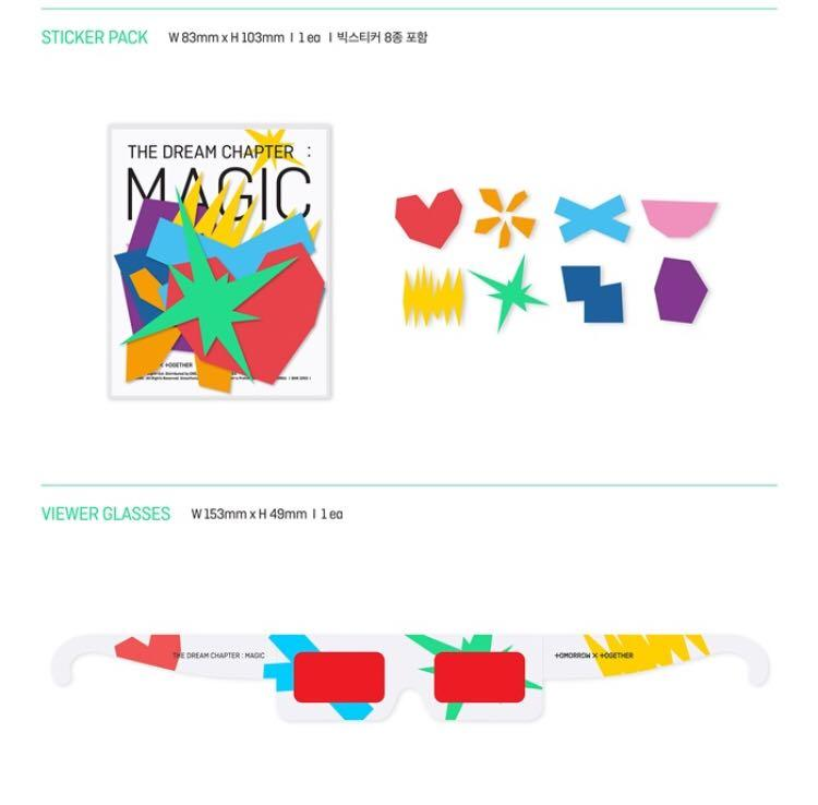 🌺TXT🌺The Dream Chapter : Magic ❄️Buy more than 1 album will gets discount